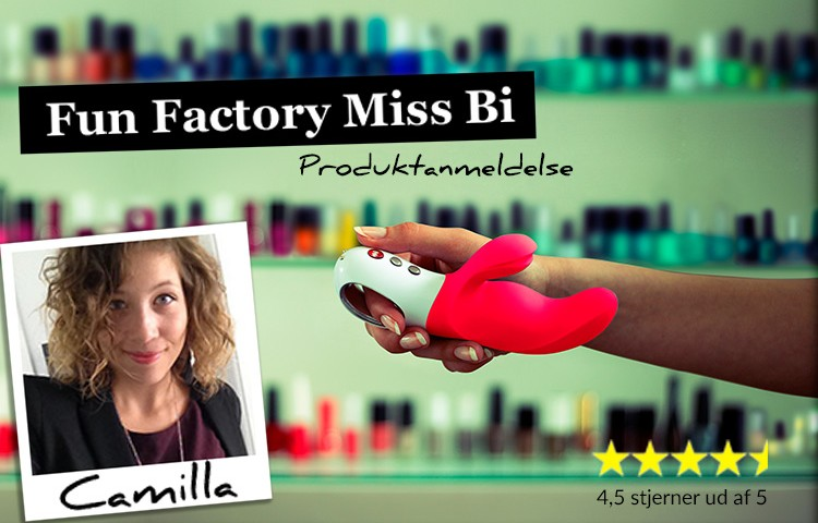 Anmeldelse af Fun Factory Miss Bi