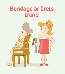 Bondage är årets hetaste trend
