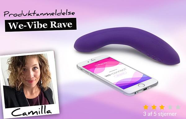 Anmeldelse af We-Vibe Rave
