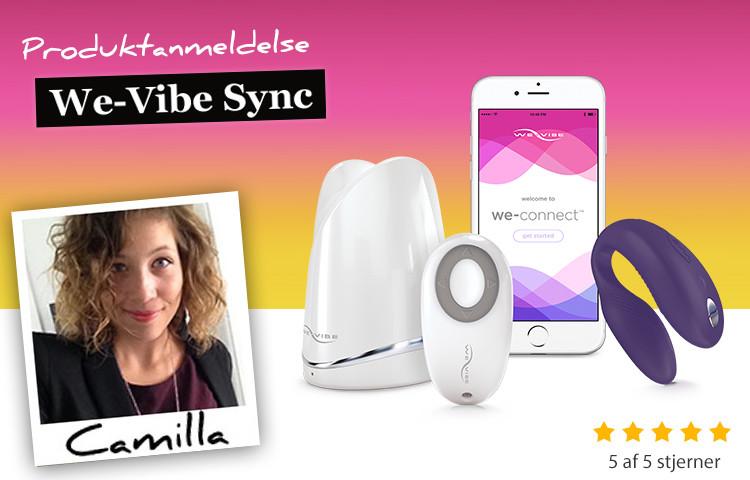 We-vibe Sync parvibrator anmeldelse 5 ud af 5 stjerner