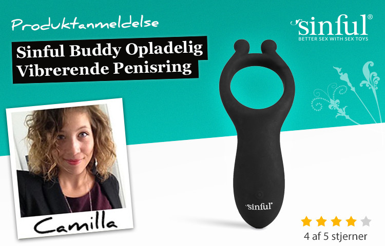 Sinful Buddy rechargeable ring